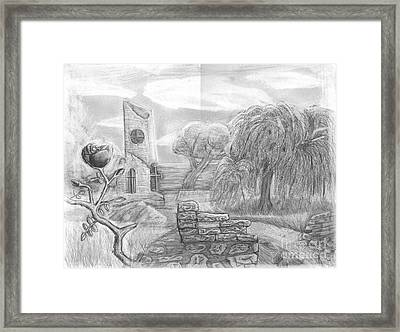 Ancient Church Framed Print by Katie Alfonsi