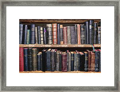 Ancient Clerical Books Framed Print