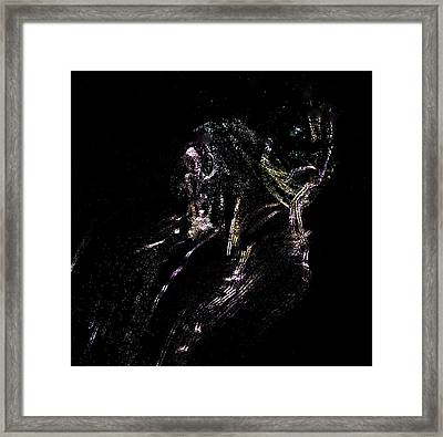 Ancient Dogmatist Of Creation Framed Print by Rebecca Phillips
