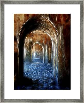 Ancient Doorway 5 Framed Print by William Horden