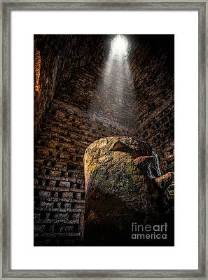 Ancient Dovecote Framed Print by Adrian Evans