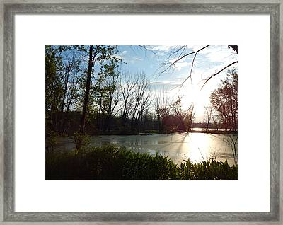 Ancient Echoes Framed Print