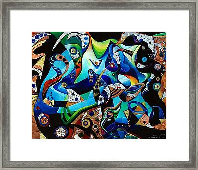 Ancient Echoes Framed Print by Wolfgang Schweizer