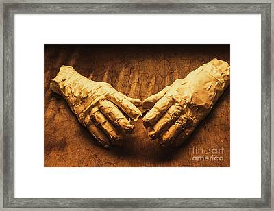 Ancient Egyptian Horror Framed Print by Jorgo Photography - Wall Art Gallery