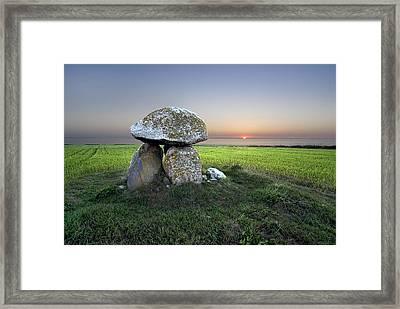 Ancient Grave Framed Print
