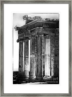 Ancient Greece Framed Print by John Rizzuto