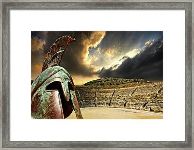 Ancient Greece Framed Print by Meirion Matthias