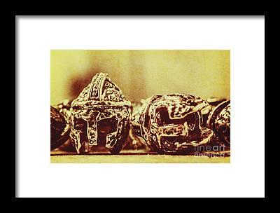 Spartan Framed Prints