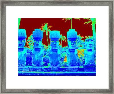 Ancient Idols Framed Print