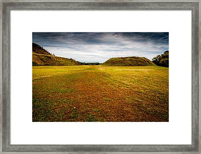 Ancient Indian Burial Ground  Framed Print