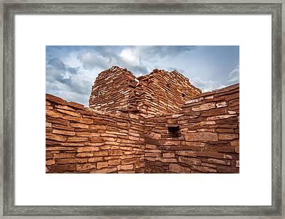 Ancient Indian Riuns #3 Framed Print by Jon Manjeot