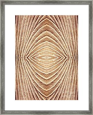 Ancient Lines 1 Framed Print by Sarah Loft