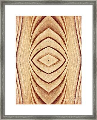 Ancient Lines 9 Framed Print by Sarah Loft