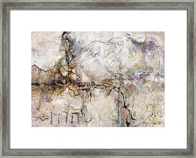 Ancient Messages No. 119 Framed Print