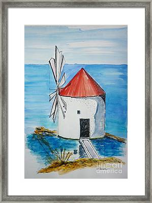 Ancient Mill Framed Print
