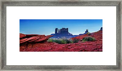 Ancient Monoliths Framed Print by Az Jackson