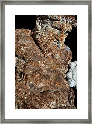ancient nudes photograph - Atlas Shrugged Framed Print