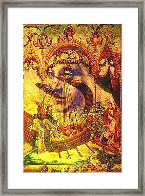Ancient Of Days Framed Print by Seth Weaver