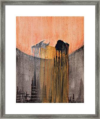 Ancient Paryer Framed Print by Patrick Trotter