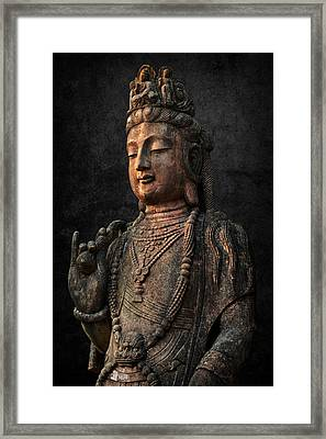 Framed Print featuring the photograph Ancient Peace by Daniel Hagerman