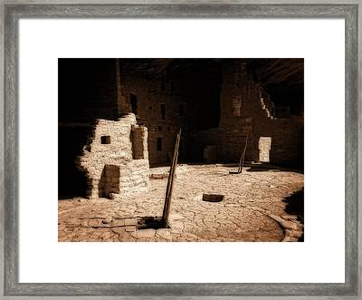 Ancient Sanctuary Framed Print by Kurt Van Wagner