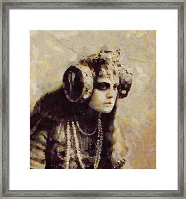 Ancient Seer Framed Print