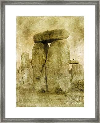Ancient Stones Framed Print