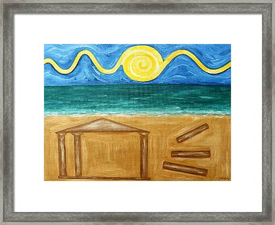 Ancient Temple Framed Print by Patrick J Murphy