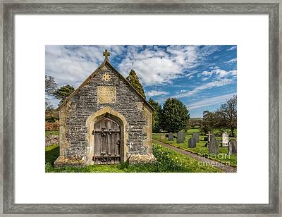 Ancient Tomb Framed Print by Adrian Evans