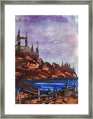 Ancient Towers Framed Print by Philip McDonald