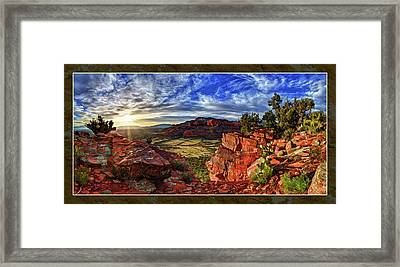 Ancient Vision Framed Print by ABeautifulSky Photography