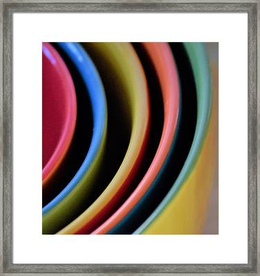 And A Dash Of Color Framed Print by John Glass