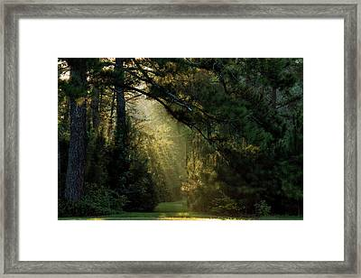 And A New Day Will Dawn... Framed Print
