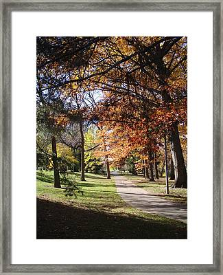 And Again Framed Print