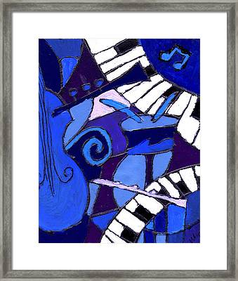 and All that Jazz 3  Framed Print
