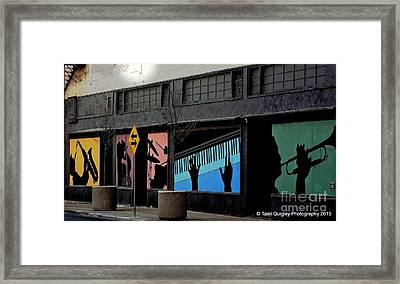And All That Jazz Framed Print