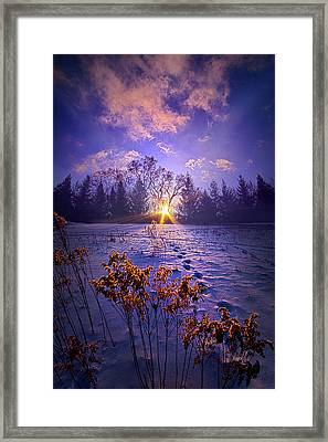 Framed Print featuring the photograph And Back Again by Phil Koch