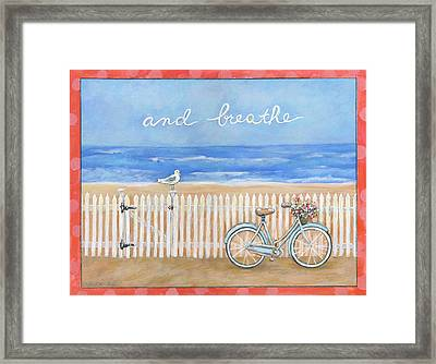 And Breathe Framed Print by Gail McClure