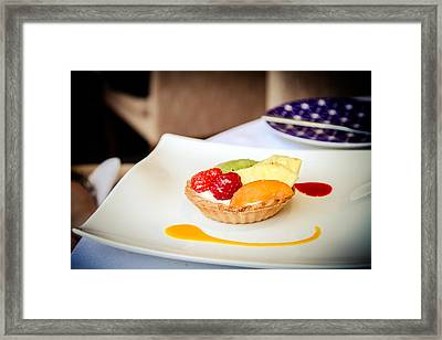 Framed Print featuring the photograph And For Dessert... by Jason Smith
