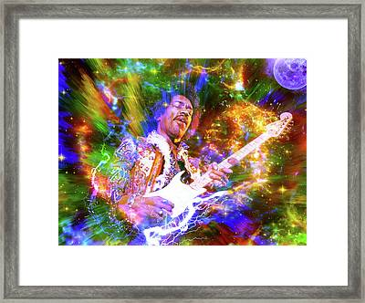 And If I Don't Meet You No More In This World Framed Print by Mal Bray