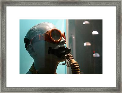 And In Framed Print by Jez C Self