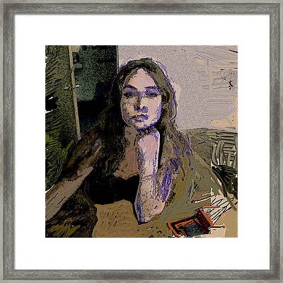 And.. Framed Print by Noredin Morgan