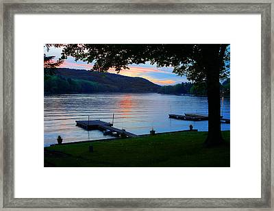 And Not A Creature Stirred Framed Print