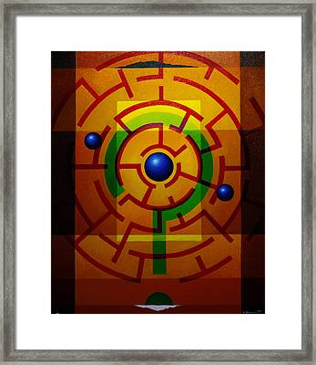 And Now? Framed Print