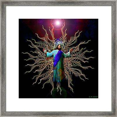 And On The Third Day... Framed Print by Michael Durst