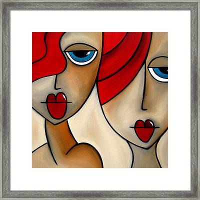 And She Was Framed Print by Tom Fedro - Fidostudio