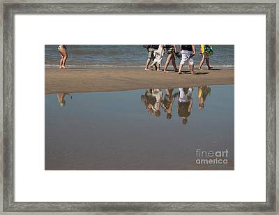 And So They Followed Framed Print
