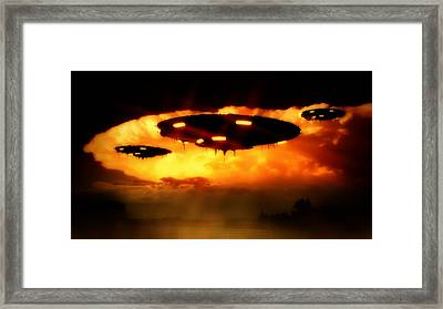 And Still They Come By Raphael Terra Framed Print