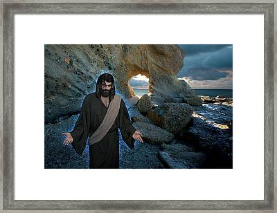 And Surely I Am With You Always To The Very End Of The Age Framed Print