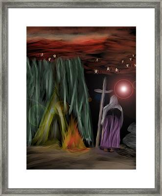 And The Fourth Angel Sounded Framed Print